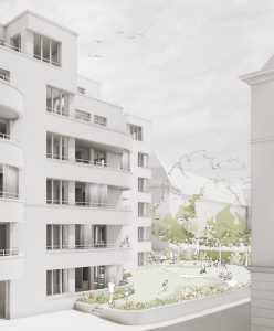 MBGZ Siedlungen Rotbuchstraße Innenhof